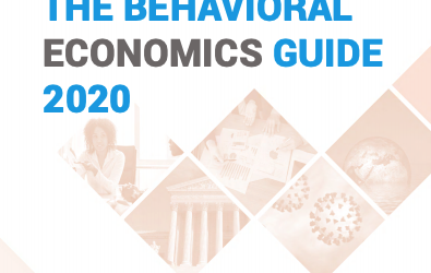 The Behavioural Economics Guide 2020